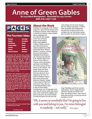Anne of Green Gables Classic Starts Study Guide
