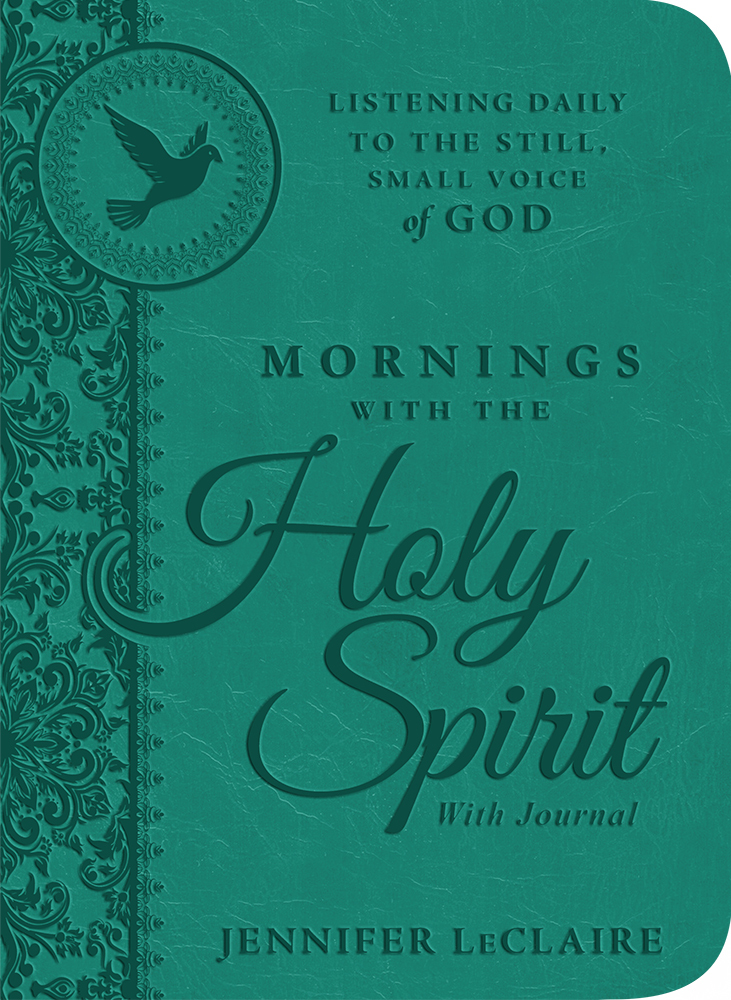 Mornings With the Holy Spirit With Journal: Listening Daily to the Still, Small Voice of God