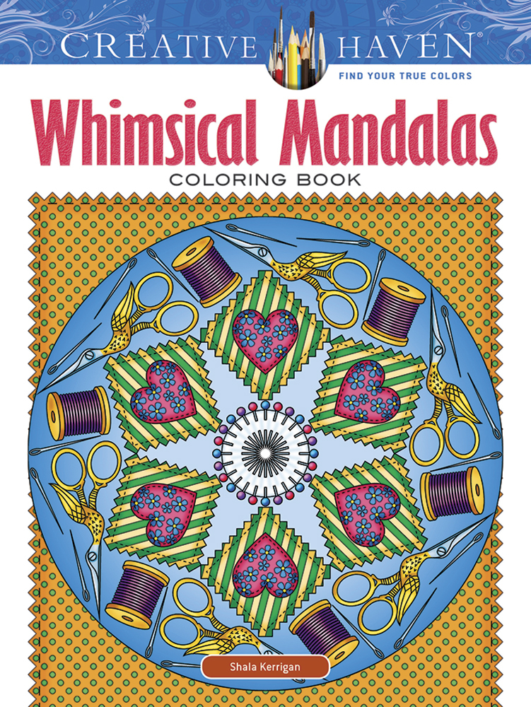Creative Haven Whimsical Mandalas Coloring Book