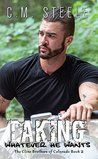 Taking Whatever He Wants (The Cline Brothers of Colorado, #2)