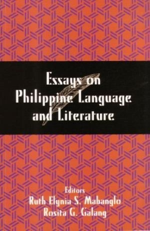 essays on philippine language and literature by ruth elynia s  16124796