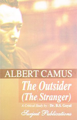 the outsider book albert camus