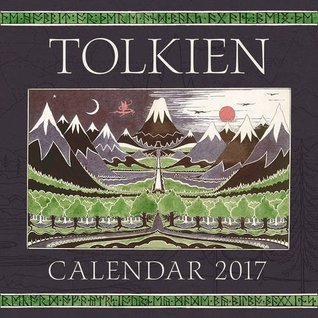 Tolkien Calendar 2017: The Hobbit 80th Anniversary (Calendars 2017)