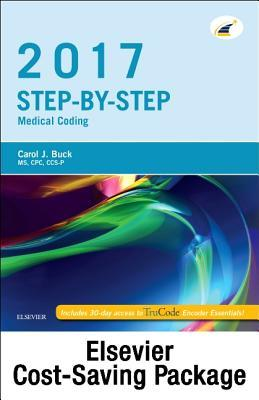 Step-By-Step Medical Coding 2017 Edition - Text, Workbook, 2017 ICD-10-CM for Hospitals Professional Edition, 2017 ICD-10-PCs Professional Edition, 2017 HCPCS Professional Edition and AMA 2017 CPT Professional Edition Package