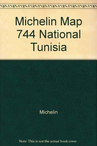 Michelin Map 744 National Tunisia