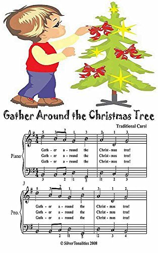 Gather Around the Christmas Tree Easy Piano Sheet Music Junior Edition