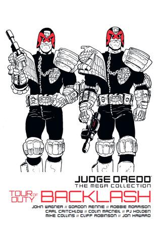 Tour of Duty Backlash (Judge Dredd The Mega Collection, #47)