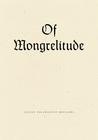 Of Mongrelitude
