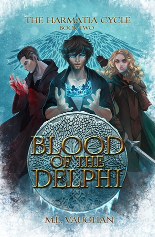 Blood of the Delphi (The Harmatia Cycle, #2)