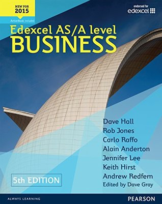 Edexcel AS/A level Business 5th edition Student Book