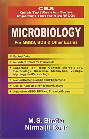CBS Quick Text Revision Series Important Text for Viva/MCQs: Microbiology for MBBS, BDS and Other Exams