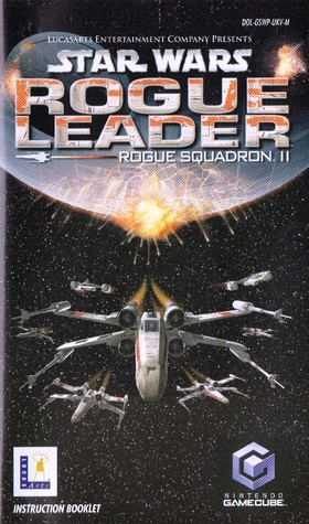 Star Wars Rogue Squadron II Rogue Leader Instruction booklet