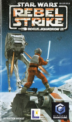 Star Wars Rogue Squadron III Rebel Strike Instruction booklet