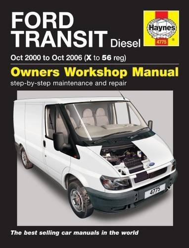 Ford Transit Diesel (Oct 00 - Oct 06) Haynes Repair Manual (Haynes Service and Repair Manuals)