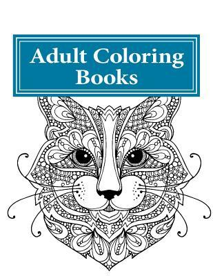 Adult Coloring Books: Stress Relieving Cute Cat Designs