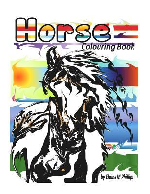 Horse Colouring Book