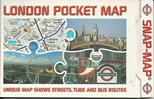 London Pocket Map: Unique Map Shows Streets, Tube and Bus Routes