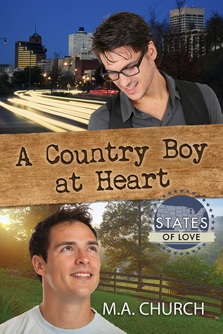 Book Review: A Country Boy at Heart (States of Love) by M. A. Church