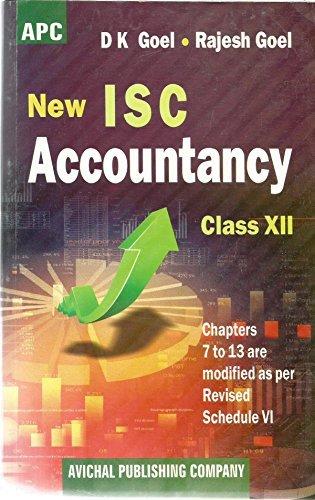 New ISC Accountancy Class 12