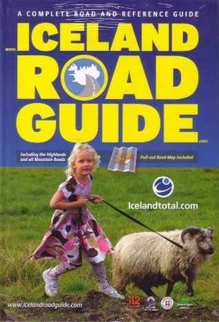 Iceland road guide +map