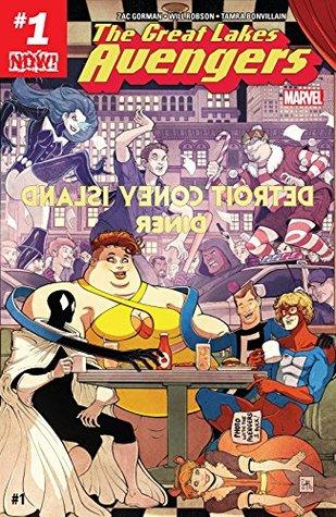 Great Lakes Avengers #1
