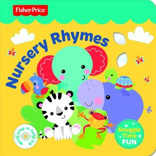 Fisher Price SNuggletime- Nursery Rhymes with CD
