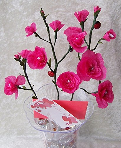 Crepe Bouquet Roses/Carnations: 4everFlowers (How to Make Crepe Paper Roses & Carnations Book 1)
