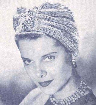 Turban No. 978 Crochet Hat Pattern