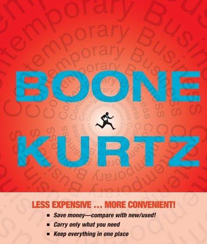 Boone & Kurtz's Contemporary Business