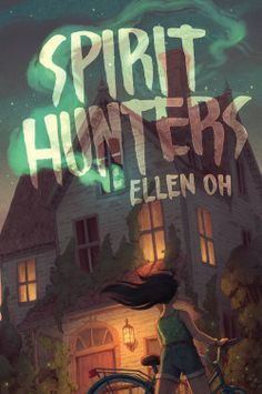 Book cover showing a haunted house.