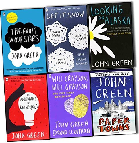 The Fault in Our Stars / Let It Snow / Looking for Alaska / An Abundance of Katherines / Will Grayson, Will Grayson / Paper Towns