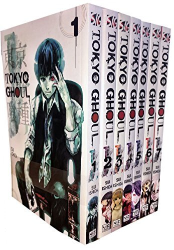 Tokyo Ghoul Collection 7 Book Set (Tokyo Ghoul, #1-7)