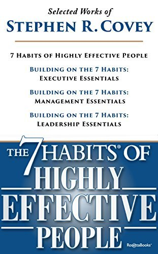Selected Works of Stephen Covey: The 7 Habits of Highly Effective People 25th Anniversary Edition, Execution Essentials, Management Essentials, Leadership Essentials