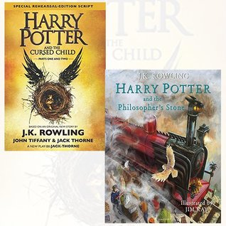 Harry Potter and the Cursed Child, Parts 1 & 2 and Harry Potter and the Philosopher's Stone 2 Books Bundle Collection