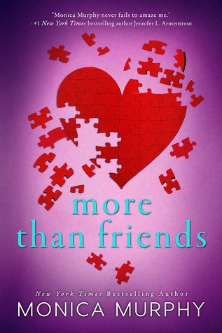 Cover Reveal | More Than Friends (Friends #2) by Monica Murphy