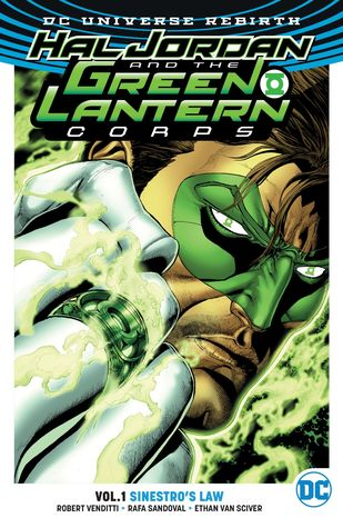 Hal Jordan & the Green Lantern Corps, Volume 1: Sinestro's Law