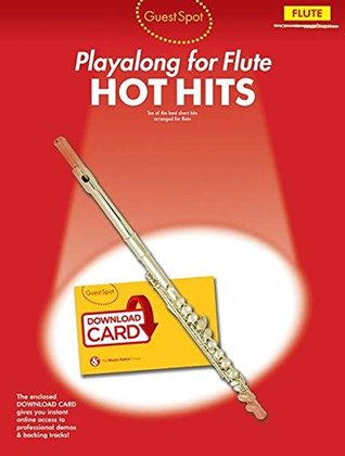 Guest Spot: Hot Hits - Flute (Book/Download Card)