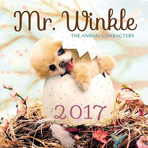 Mr. Winkle 2017 Wall Calendar