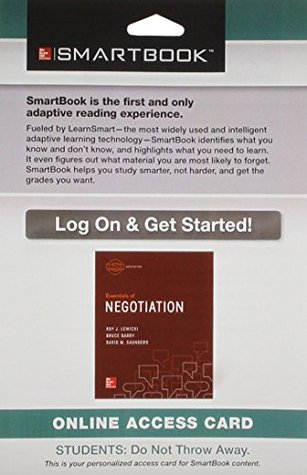 Smartbook Access Card for for Essentials of Negotiation