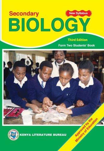 KLB Biology: SHS; Form 2