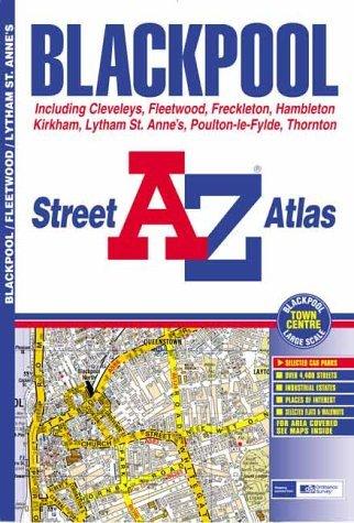 A-Z Blackpool Street Atlas