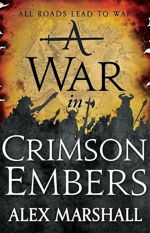 A War in Crimson Embers (The Crimson Empire, #3)