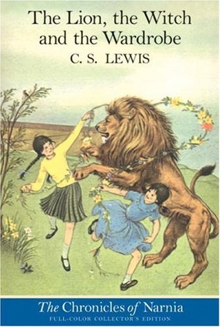 Cover - The Lion, the Witch and the Wardrobe (Goodreads)
