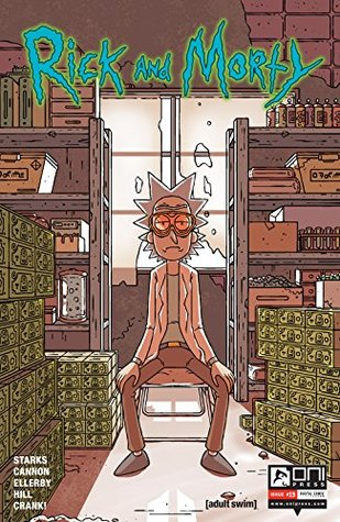 Ebook Rick and Morty #19 by Kyle Starks DOC!