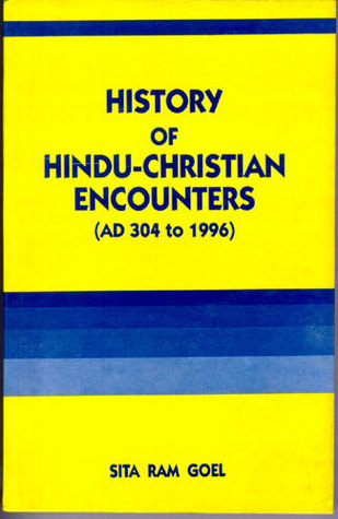 History Of Hindu Christian Encounters, Ad 304 To 1996