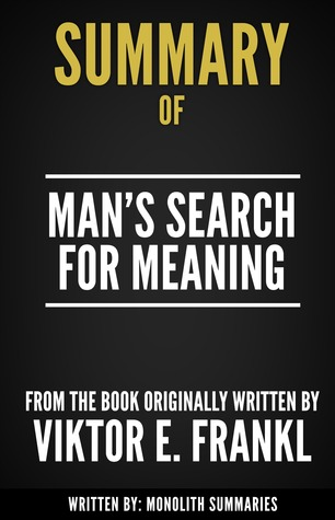 a review of viktor frankls autobiography mans search for meaning Viktor e frankl, author of man's search for meaning vikto e frankl, viktors frankls, viktor f frankl mans search for meaning 1 copy.
