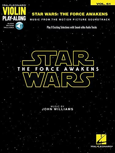 Star Wars: The Force Awakens Songbook: Violin Play-Along Volume 61