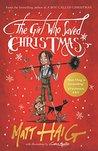 Book cover for The Girl Who Saved Christmas