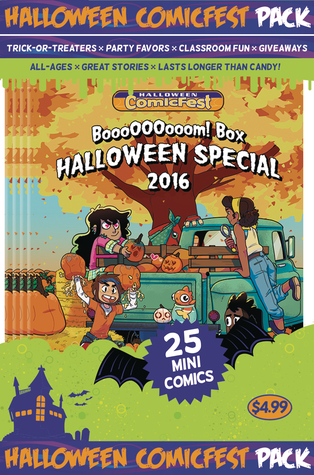 BOOOOOOOOOM BOX HALLOWEEN MINI COMIC POLYPACK