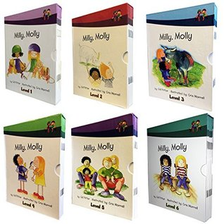 60 book set of MiIly, Molly early readers collection. These accelerated reading books for children are fully colour illustrated. They are great for school or fantastic as a read at home set. Milly Molly is televised and improves childrens learning